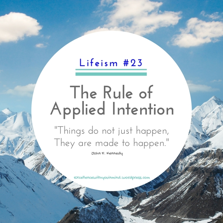 Applied Intention